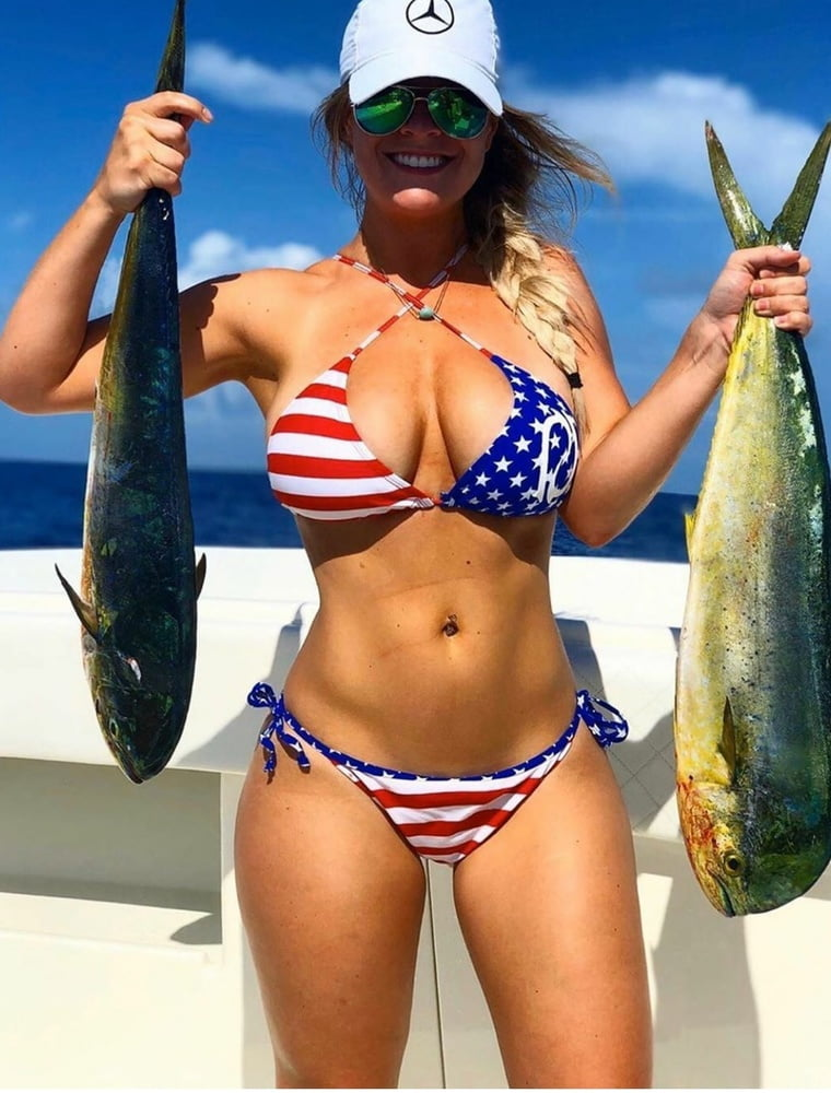 Nothing sexier than a girl who fishes.